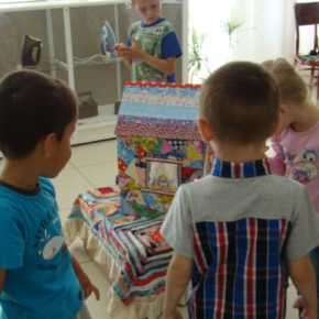 детсадовцы в музее
