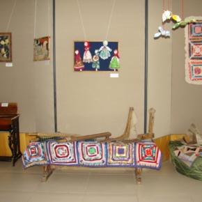 лоскутная выставка в музее