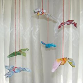 лоскутные птицы