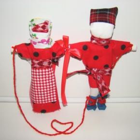 куклы неразлучники