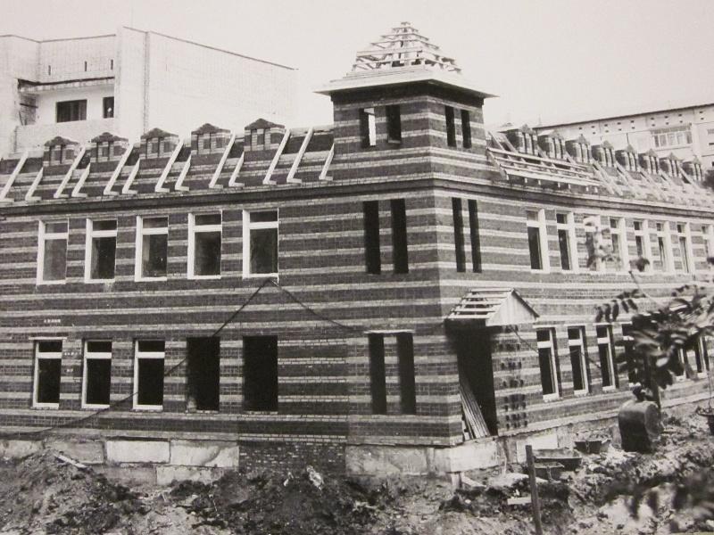 Недостроенное здание музея