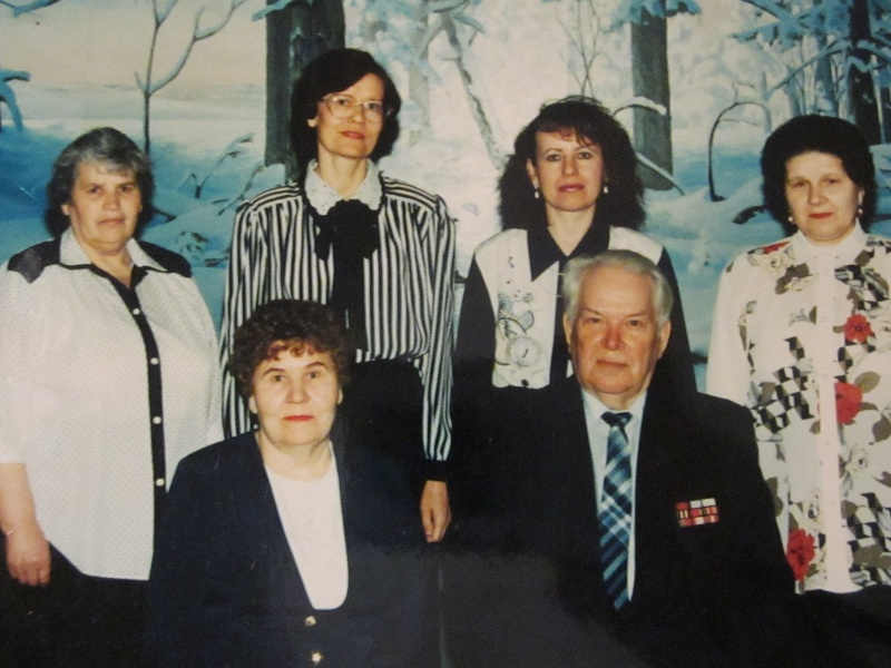 Коллектив музея 1997 год